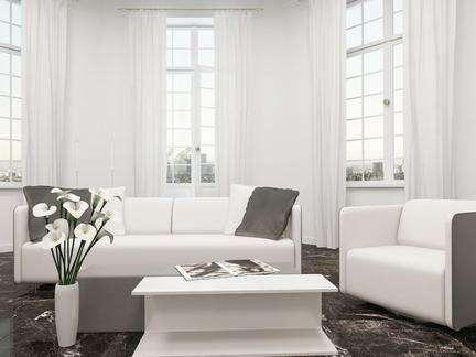 客厅窗帘适合用什么颜色 客厅窗帘如何选插图2