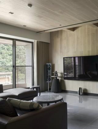 148m²台式简约风客厅装修效果图