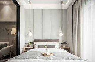 50㎡复式两居卧室装修效果图