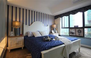 地中海风三居卧室装修效果图