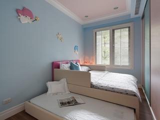 简欧风格三居儿童房装修效果图