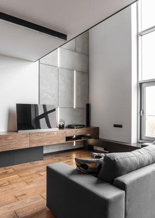 80平复式公寓装修效果图