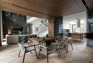 现代风格别墅餐厅装修效果图