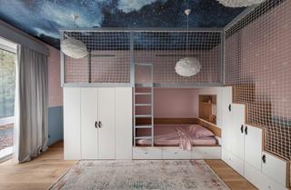 现代风格别墅儿童房装修效果图