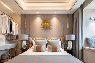 现代轻奢三居卧室装修效果图