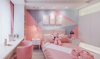 122㎡现代简约儿童房装修效果图