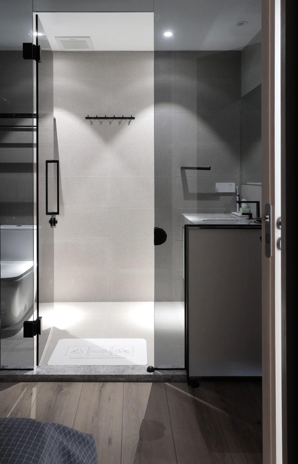 107㎡两居室卫生间装修效果图
