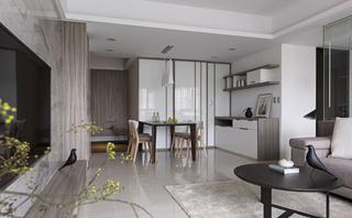 现代风三居室装修效果图