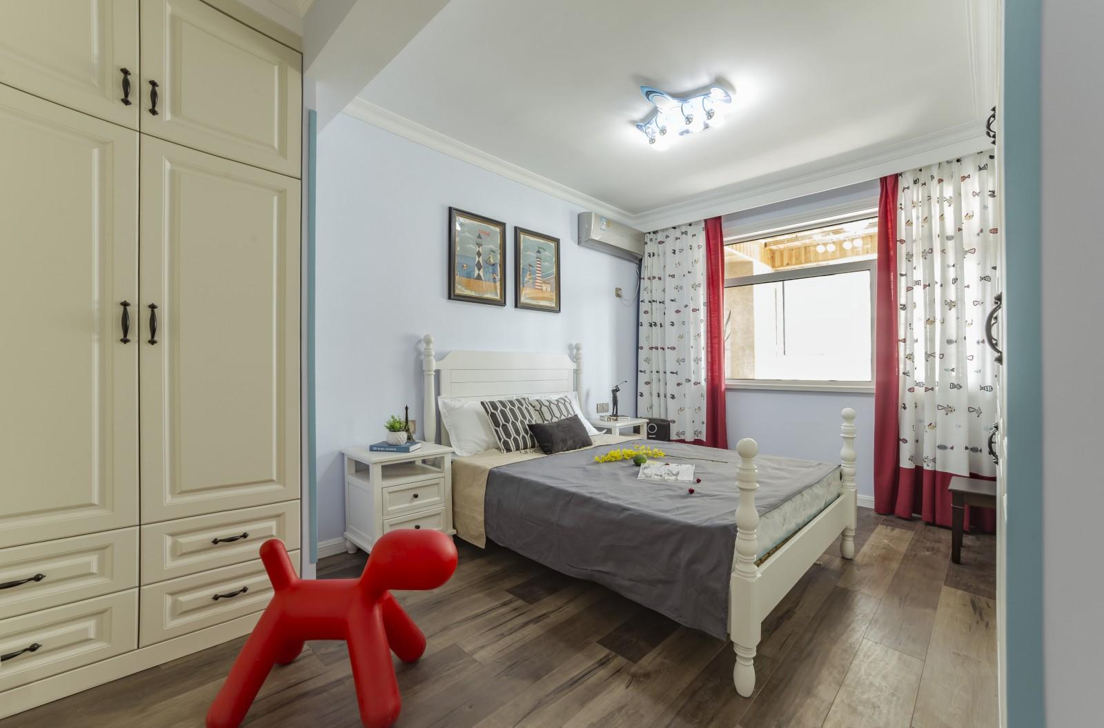 美式风三居室儿童房装修效果图