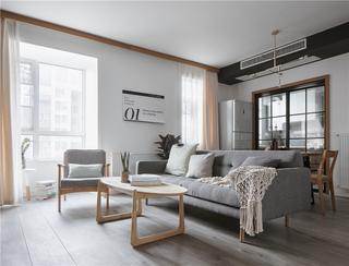北欧风两居室客厅装修效果图