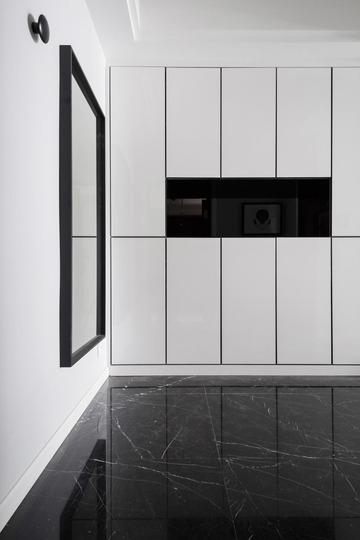 170m²现代简约玄关装修效果图
