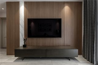 130m²现代简约电视墙装修效果图