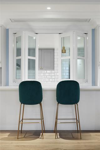 美式轻奢三居室装修吧台效果图