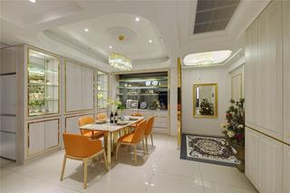 128平奢华新古典餐厅装修效果图
