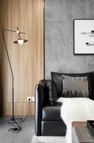 148m²现代简约风装修沙发一角