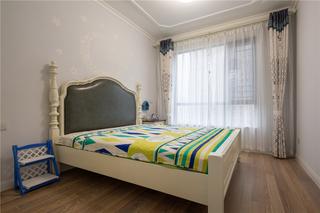 地中海風格三居臥室裝修效果圖
