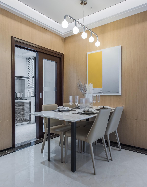 现代简约风三居餐厅装修效果图