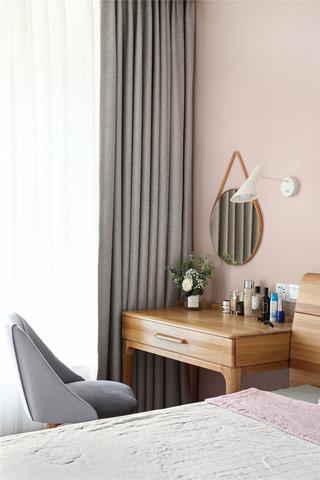 北欧风格三居装修梳妆台设计图