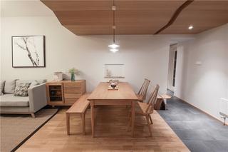日式风三居室餐厅装修效果图