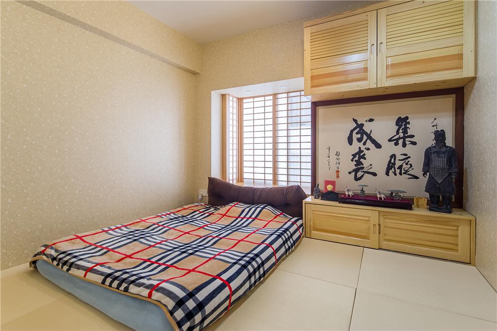 日式混搭风格榻榻米房装修效果图