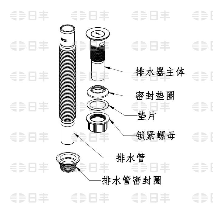 面盆下水器如何安装及保养