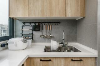 简约北欧三居厨房装修效果图