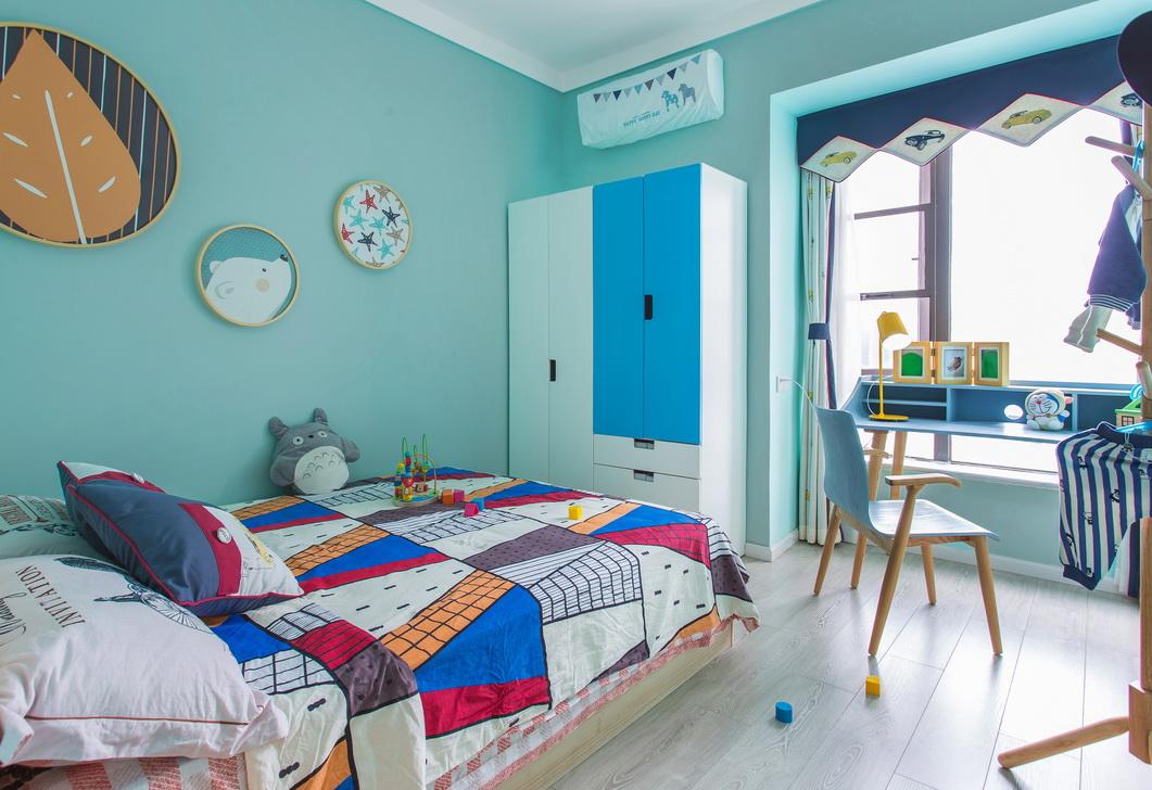 北欧风格二居儿童房每日首存送20
