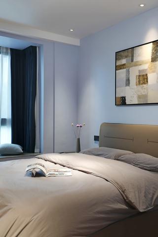 116m²现代风卧室装修效果图