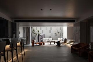 现代风格别墅地下室每日首存送20