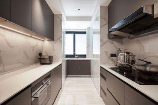 160㎡现代轻奢厨房装修效果图