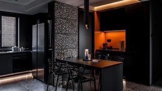 120m²现代简约餐厅装修效果图