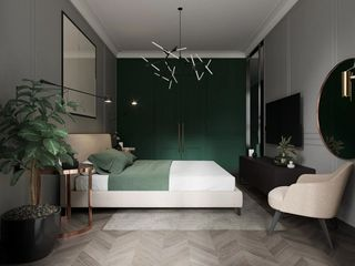 64平米公寓卧室装修效果图