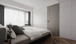现代极简风二居卧室装修效果图