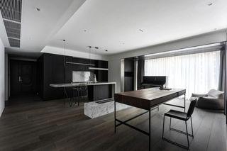 现代简约二居装修效果图