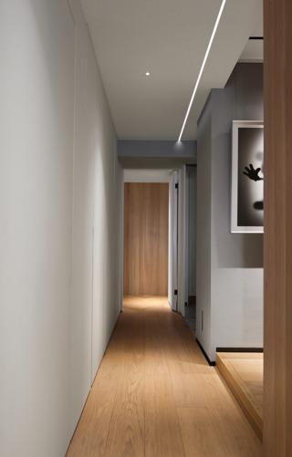 简约现代三居走廊装修效果图