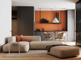 两居室公寓装修效果图