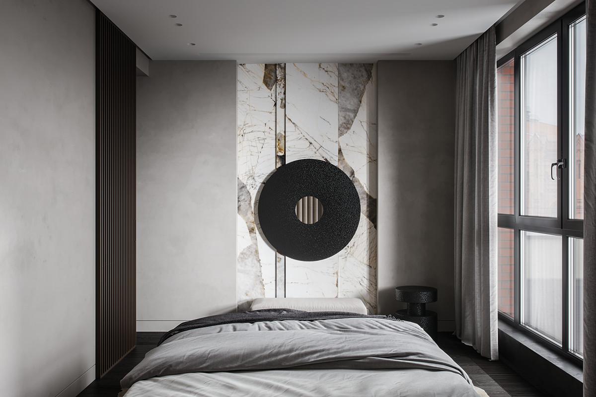 90平米混搭风卧室装修效果图