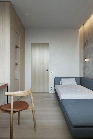 124平极简公寓儿童房装修效果图