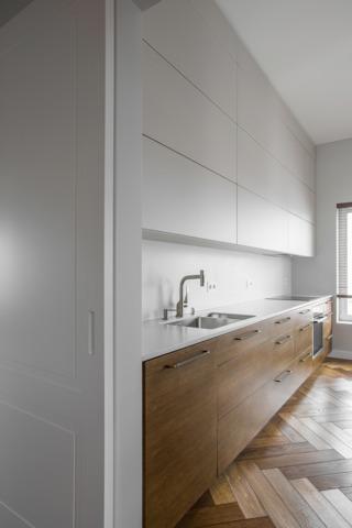 142平LOFT装修厨房效果图