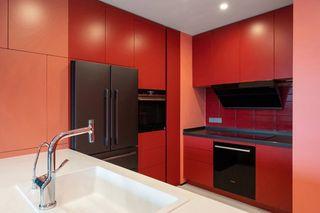 86平米公寓厨房装修装修效果图