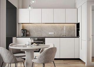 50㎡現代公寓裝修效果圖