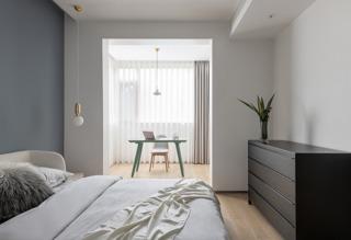 现代简约风别墅卧室装修效果图