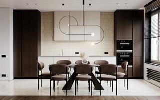 114平现代两居装修效果图