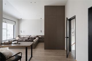 现代风格别墅卧室装修效果图